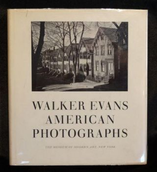 WALKER EVANS: AMERICAN PHOTOGRAPHS. Walker Evans