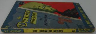 THE DUNWICH HORROR (Bart House Mystery 12)