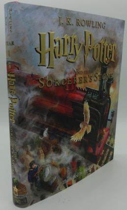 HARRY POTTER AND THE SORCERER'S STONE (First Illustrated Edition). J. K. Rowling