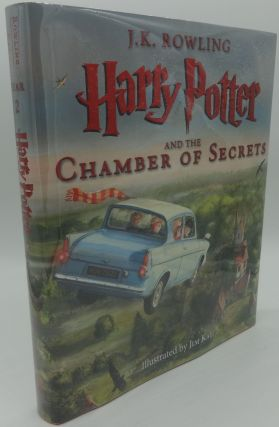 HARRY POTTER AND THE CHAMBER OF SECRETS (First Illustrated Edition). J. K. Rowling