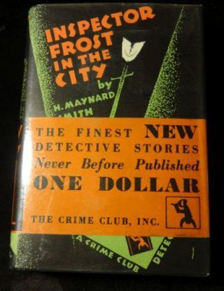 INSPECTOR FROST IN THE CITY. H. Maynard Smith