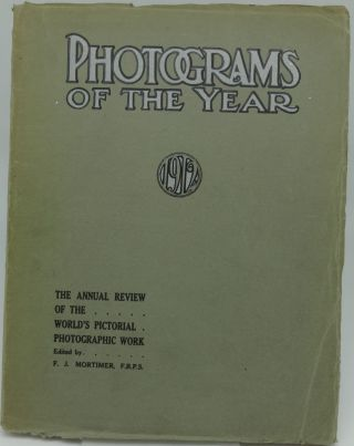 PHOTOGRAMS OF THE YEAR 1912. and Staff of Photograms of the Year