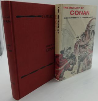 THE RETURN OF CONAN. Bjorn Nyberg, L. Sprague de Camp