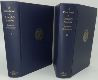 A FRENCHMAN IN LINCOLN'S AMERICA (TWO VOLUMES)