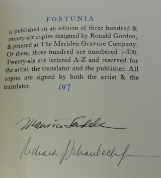 FORTUNIA (Signed Limited)