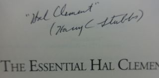 THE ESSENTIAL HAL CLEMENT (THREE VOLUMES SIGNED)