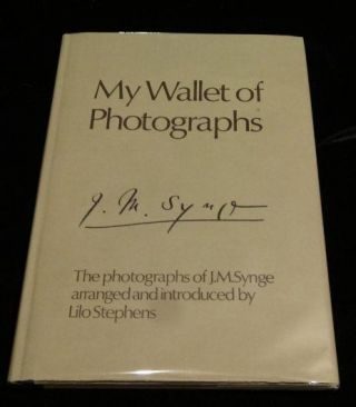 MY WALLET OF PHOTOGRAPHS. J. M. Synge