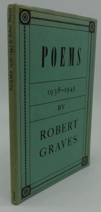 POEMS 1938 - 1945. Robert Graves.