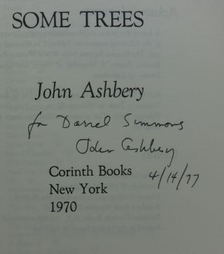 SOME TREES (SIGNED)