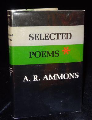 SELECTED POEMS. A. R. Ammons
