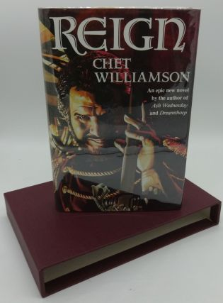 REIGN (SIGNED LIMITED). Chet Williamson