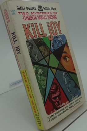 SPEAK OF THE DEVIL & KILL JOY (Ace G-534). Elisabeth Sanxay Holding