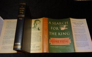 A SEARCH FOR THE KING. Gore Vidal.