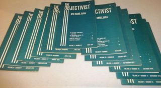 THE OBJECTIVIST 1970 (Twelve Vols.)