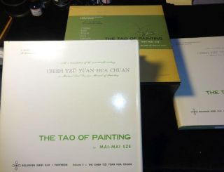 THE TAO0 OF PAINTING Two Volume Boxed Edition. Mai-Mai Sze.