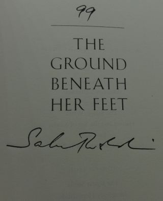 THE GROUND BENEATH HER FEET (SIGNED LIMITED