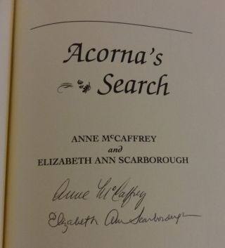 ACORNA'S SEARCH (Signed)