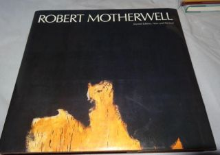 ROBERT MOTHERWELL (SIGNED). H. H. Arnason - Rbt. Motherwell, Signed