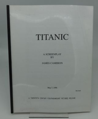 TITANIC (A SCREEN PLAY) (Revised). James Cameron