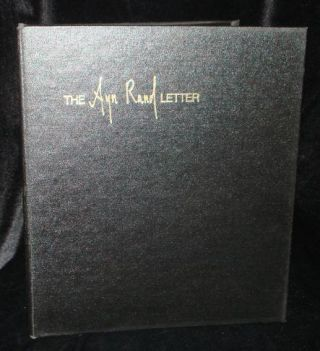 THE AYN RAND LETTER Volume Two (Complete). Ayn Rand.