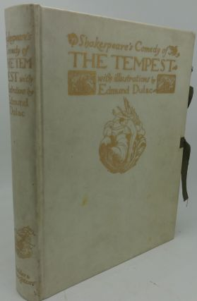 THE TEMPEST (Signed Limited Edition by Edmund Dulac). William Shakespeare, Edmund Dulac