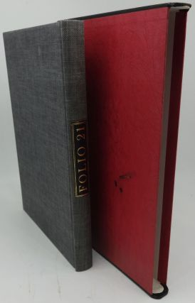 FOLIO 21 A BIBLIOGRAPHY OF THE FOLIO SOCIETY 1947-1967. The Folio Society: Sir Francis Meynell
