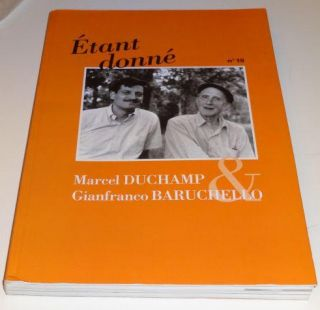 ETANT DONNE No 10 Marcel Duchamp & Gianfranco Baruchello. Marcel Duchamp