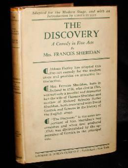 THE DISCOVERY: A Comedy in Five Acts. Mrs. Frances Sheridan